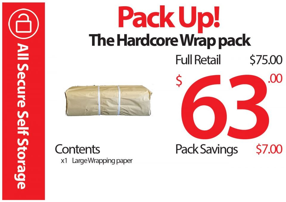 The Hardcore Wrap Pack